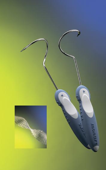 Технология применения сетчатых имплантов